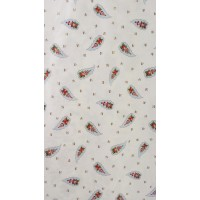 GINA - printed fabric 280 cm - 100% cotton - sold by the meter