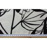 IONA GRIS -  tissu imprimé 280 cm - 100% coton - vendu au mètre