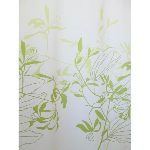 IONA VERT -  tissu imprimé 280 cm - 100% coton - vendu au mètre