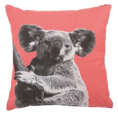 Coussin Imprime Couleur Motif Animal Koala Pas Cher Pour La