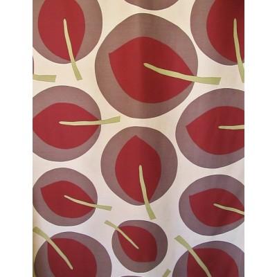 PARC beige - tissu imprimé 280 cm 70% polyester 30% coton vendu au mètre