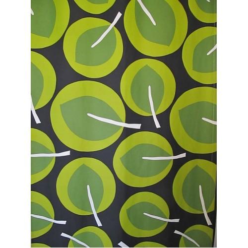 PARC vert - tissu imprimé 280 cm - 70% polyester 30% coton - vendu au mètre