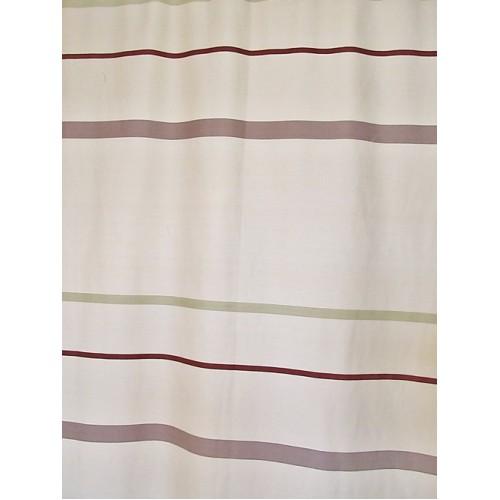 RUE beige -  tissu imprimé 280 cm - 70% polyester 30% coton - vendu au mètre