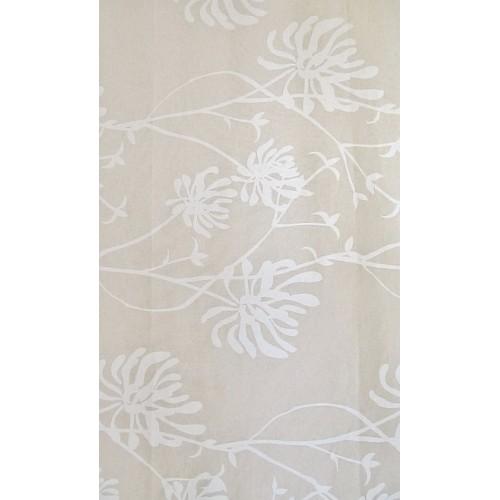 GALA - lin  tissu imprimé 280 cm - 90% coton 10% lin - vendu au mètre