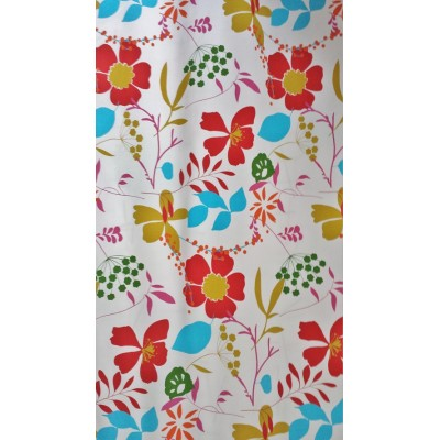 ELSA -  tissu  imprimé -  280 cm -  100% coton - vendu au mètre