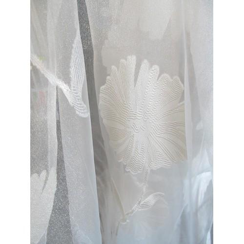 voilage blanc beige d coratif en 300 cm de haut fait de