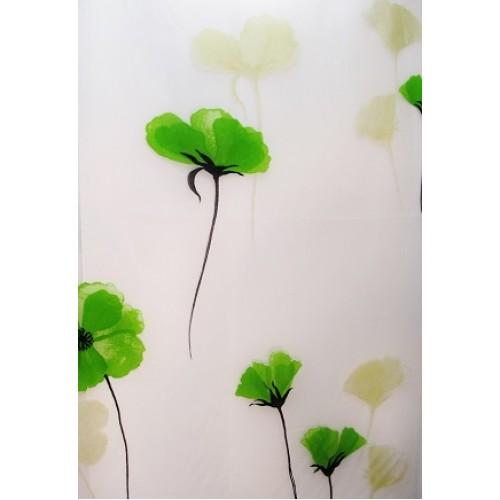 voilage d coratif en 280 cm de haut fait de polyester en. Black Bedroom Furniture Sets. Home Design Ideas