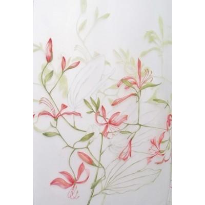 MOON - voilage imprimé - 280 cm - 50% polyester 50% viscose - vendu au mètre