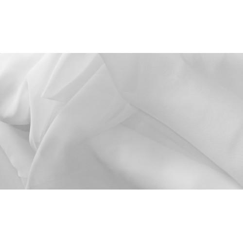 VOILE blanc - 100% polyester - 150 cm - vendu au mètre