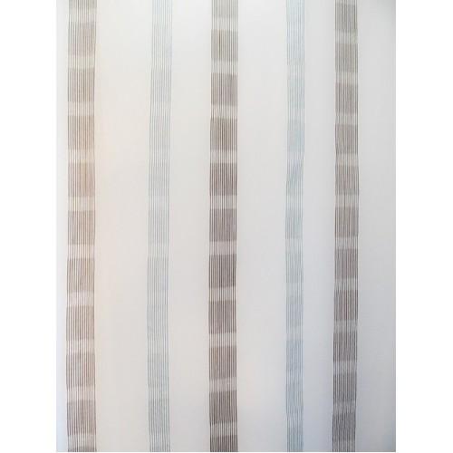 BLUE voilage rayure - 300 cm - 100% polyester - vendu au mètre